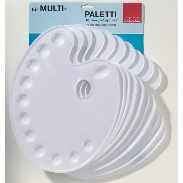10 Einwegauflagen für Multi-Paletti
