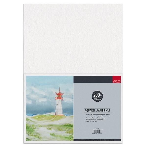 Aquarellpapier No.1 200 g/m²