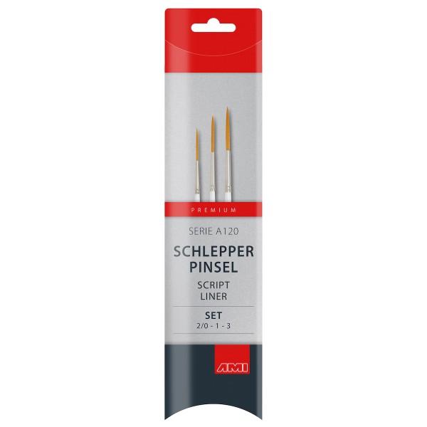 Schlepperpinsel Serie A120 Set