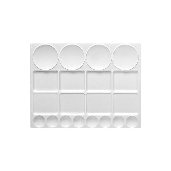 Kunststoffpalette eckig 32,0x24,5cm