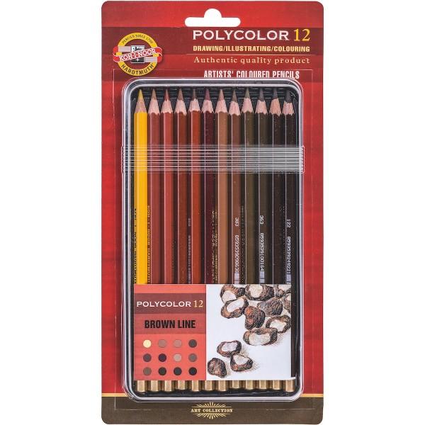 Polycolor Set 3822 Brauntöne