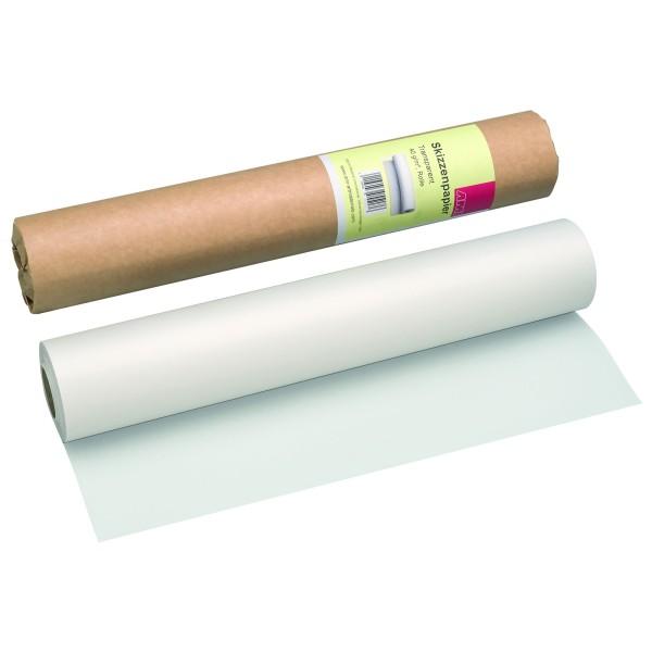 Skizzenpapier Rolle 40 g/m²