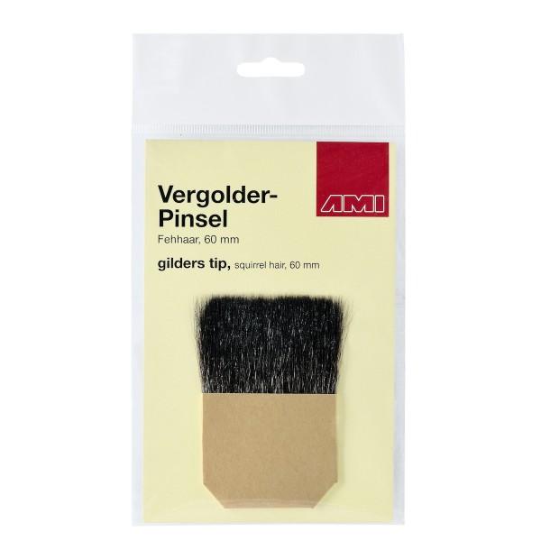 Vergolder-Pinsel