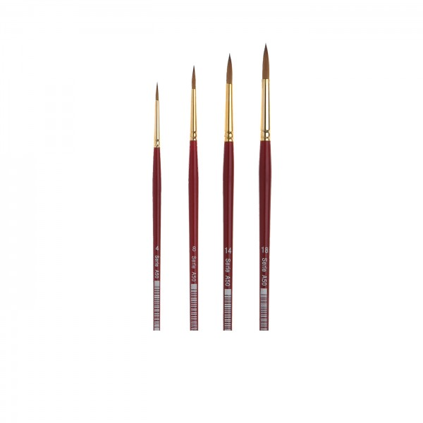Aquarellmalpinsel Serie A50