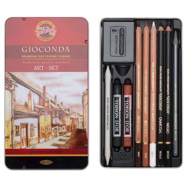 Gioconda Art Set 10tlg., R