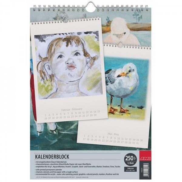 Kalenderblock A4
