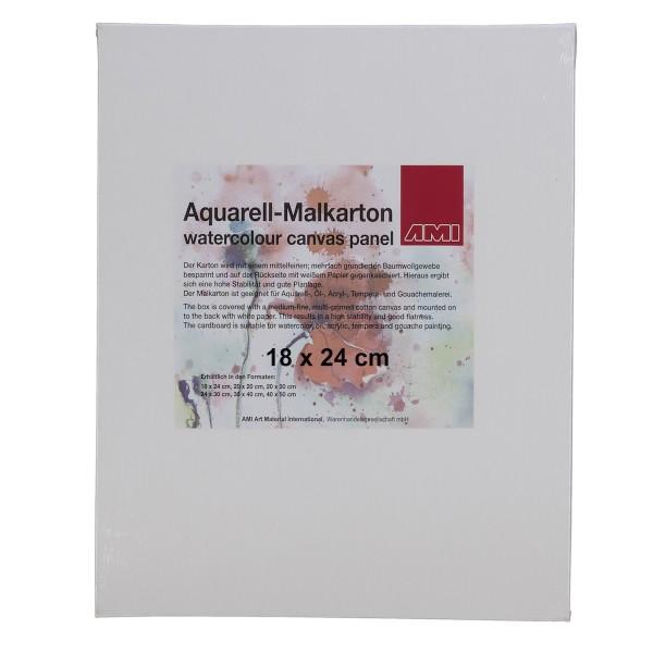 Aquarell-Malkarton