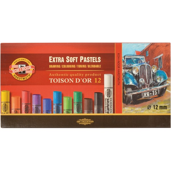 Toison Dòr Extra Soft Pastellkreide Set