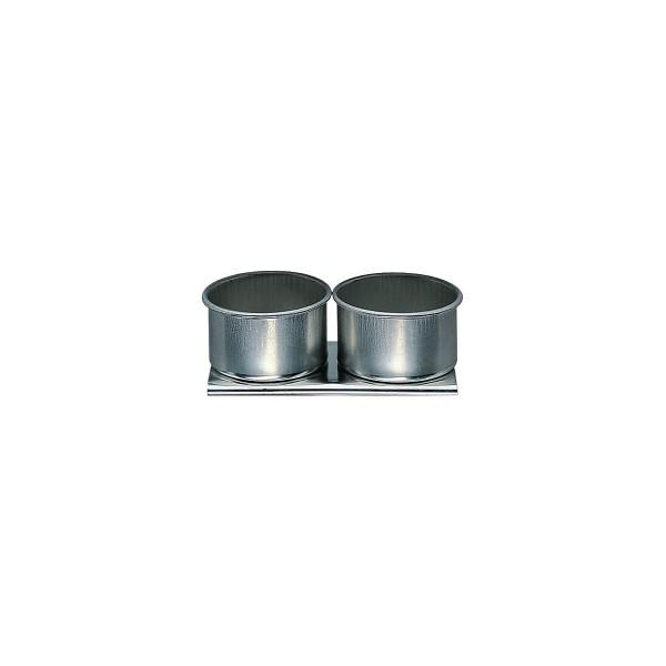 Palettstecker 2 Näpfe, Aluminium