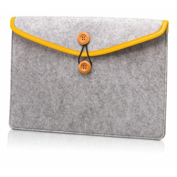 Filztasche 25x35cm, Elastikbandverschluß