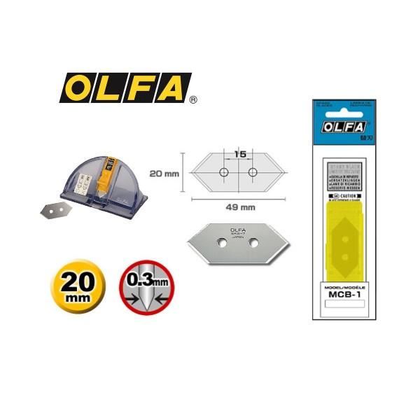 Olfa Ersatzklinge MCB-1