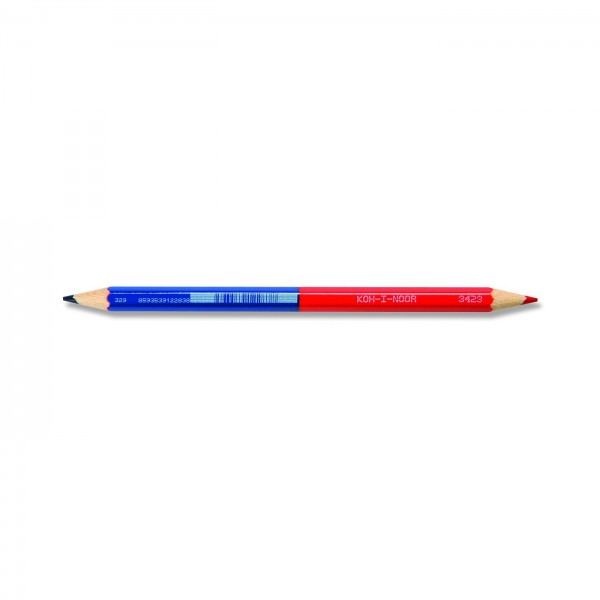 Duo Farbstift rot/blau