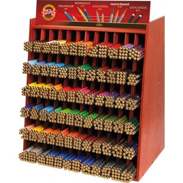Mondeluz Display bestückt 864 Stifte