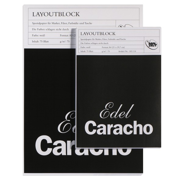 Layoutblock Edel Caracho 75 g/m²
