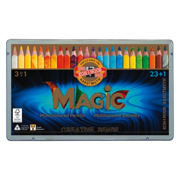 Magic Multicolour Farbstifte Sets 3407