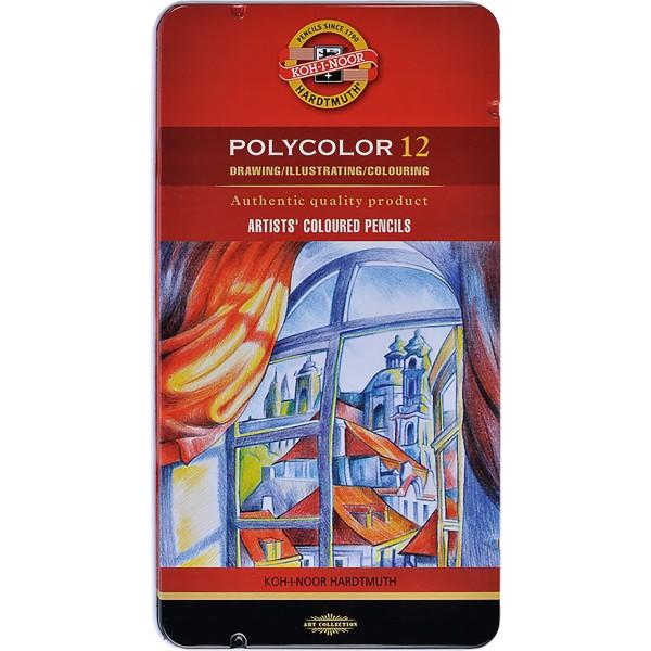 Polycolor Künstlerfarbstifte Set 3800