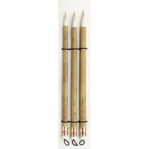 China Pinsel Set Nr. 1, 3 Pinsel