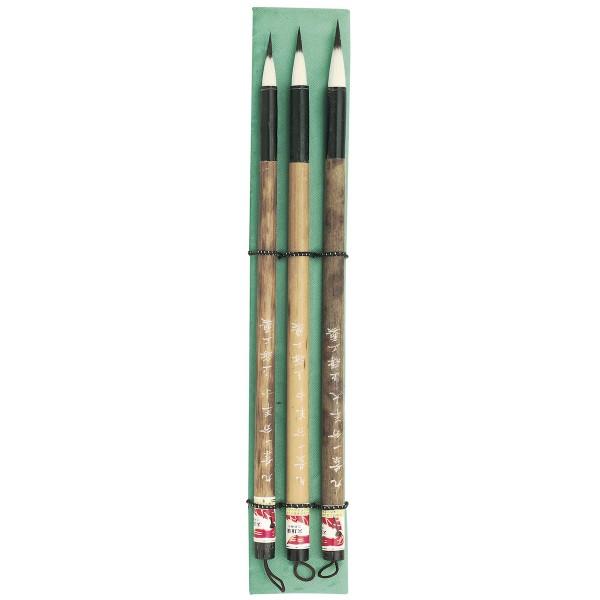 China Pinsel Set Nr. 4, 3 Pinsel