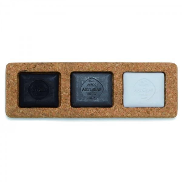 ArtGraf Carbon Block Set 3tlg. Monochrom