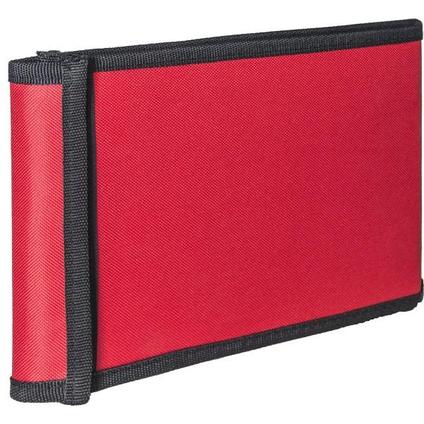 Stiftetasche 22,5x17,5cm, rot