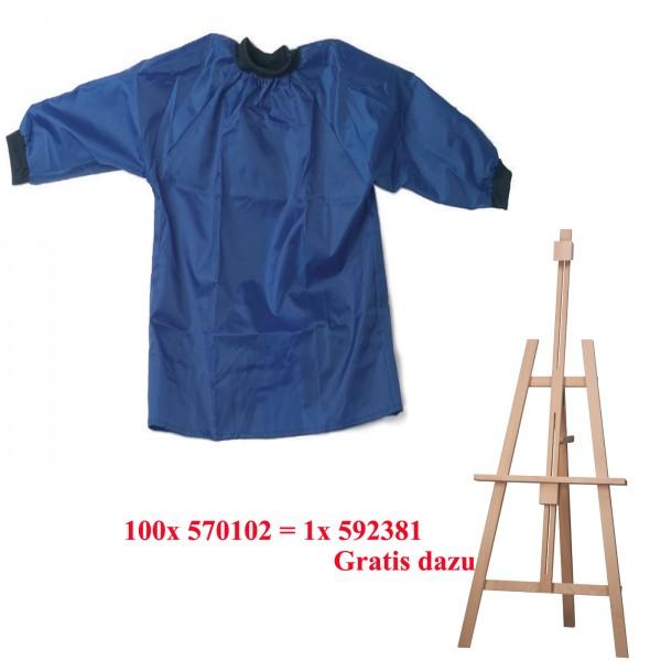 100 Kinderkittel Nylon Gr.134-152 + Kinderstaffelei