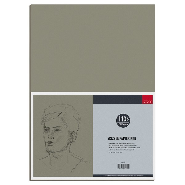 Skizzenpapier KKB 110 g/m²