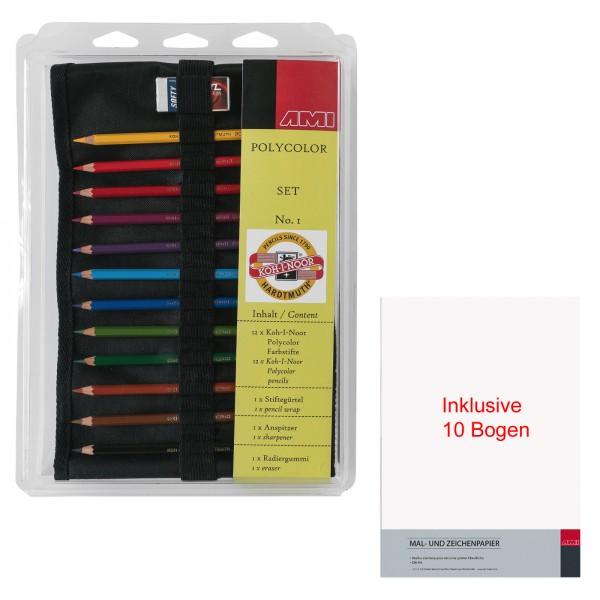 Koh-I-Noor Polycolor Künstlerfarbstifte - Set