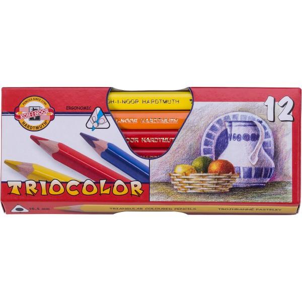 Triocolor Farbstifte Set
