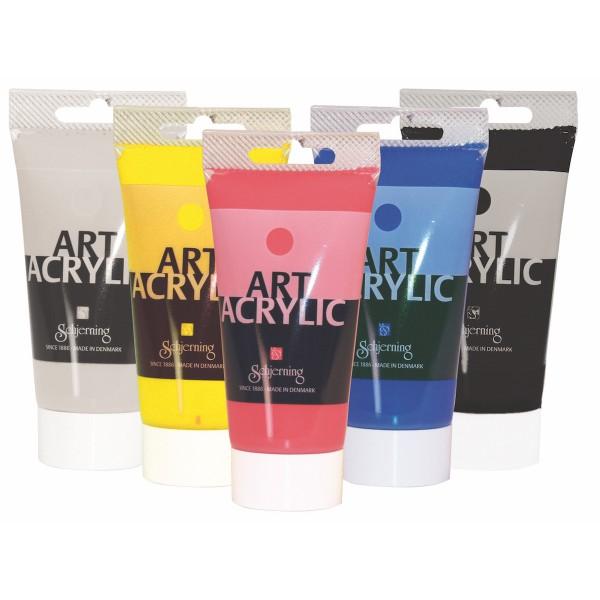 Art Acrylic Set 75ml, 5 Farben