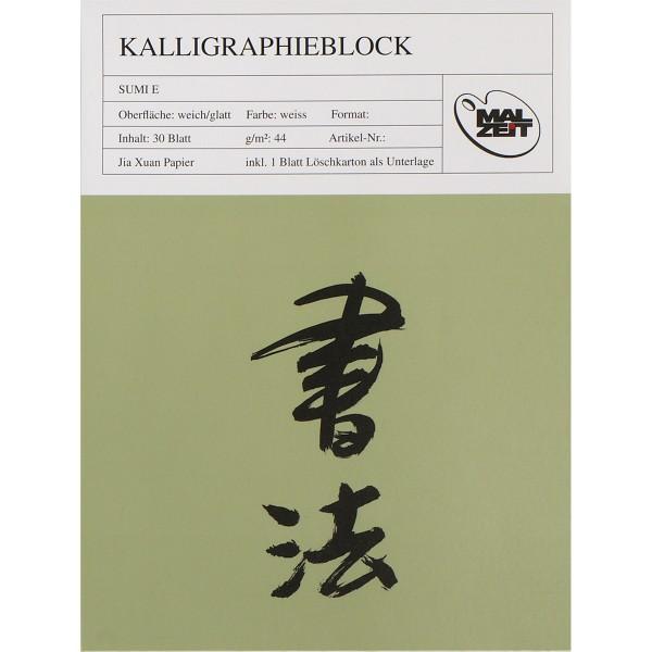 Kalligraphieblock 44 g/m²