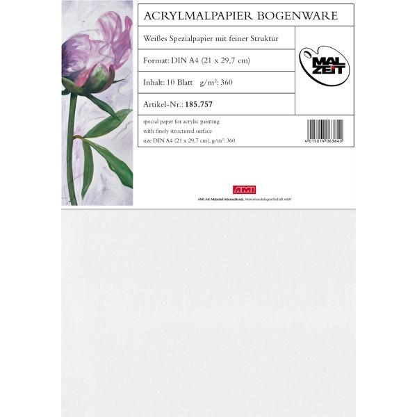Acrylmalpapier 360 g/m²